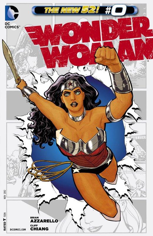 Wonder Woman Volume Four Issue 0