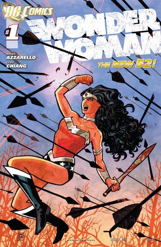 Wonder Woman Volume Four Issue 1