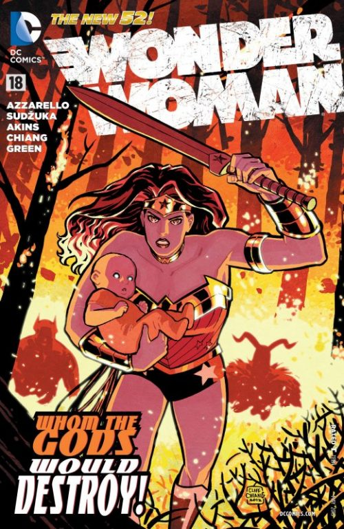 Wonder Woman Volume Four Issue 18