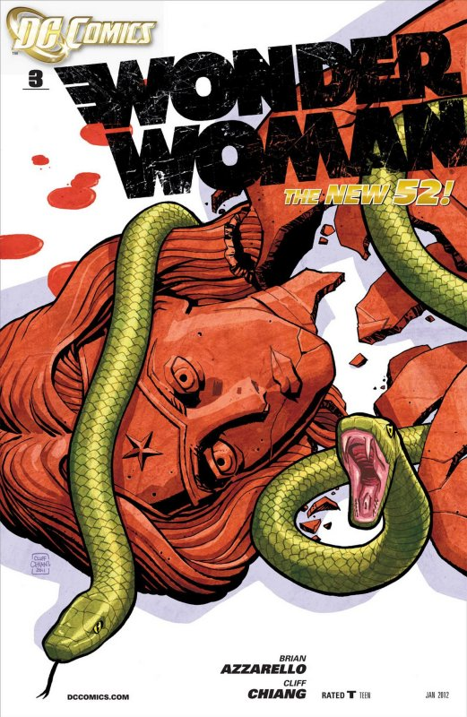 Wonder Woman Volume Four Issue 3
