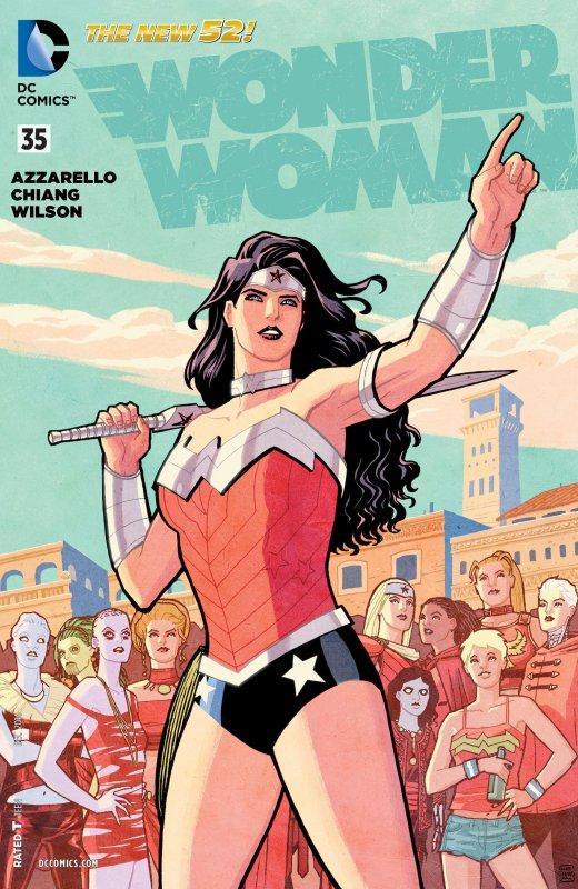 Wonder Woman Volume Four Issue 35