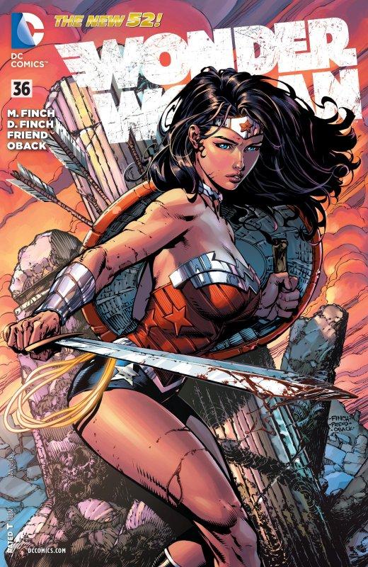 Wonder Woman Volume Four Issue 36