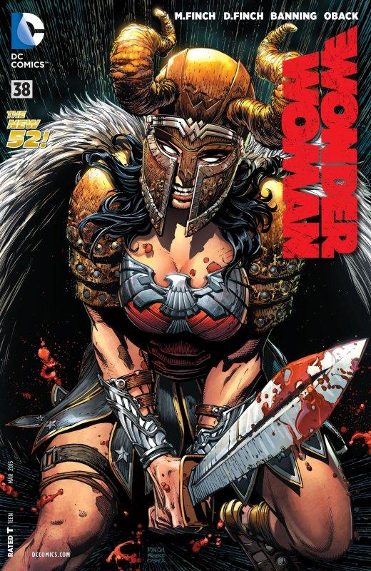 Wonder Woman Volume Four Issue 38