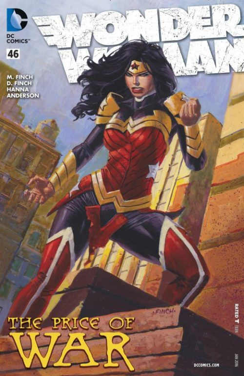 Wonder Woman Volume Four Issue 46