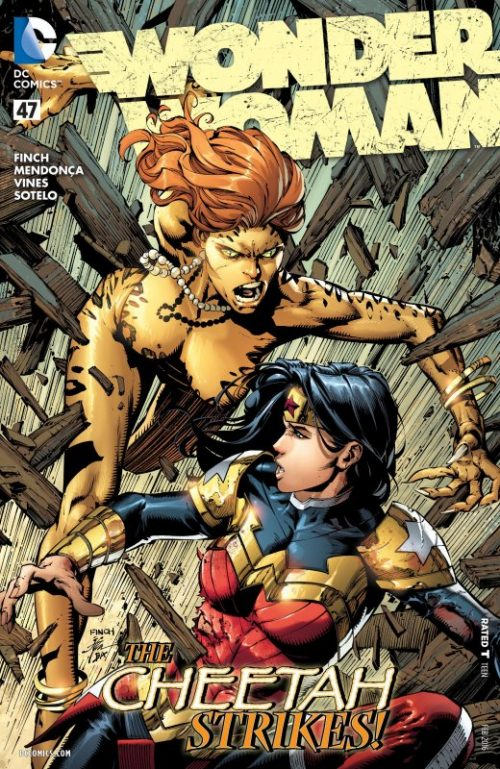 Wonder Woman Volume Four Issue 47
