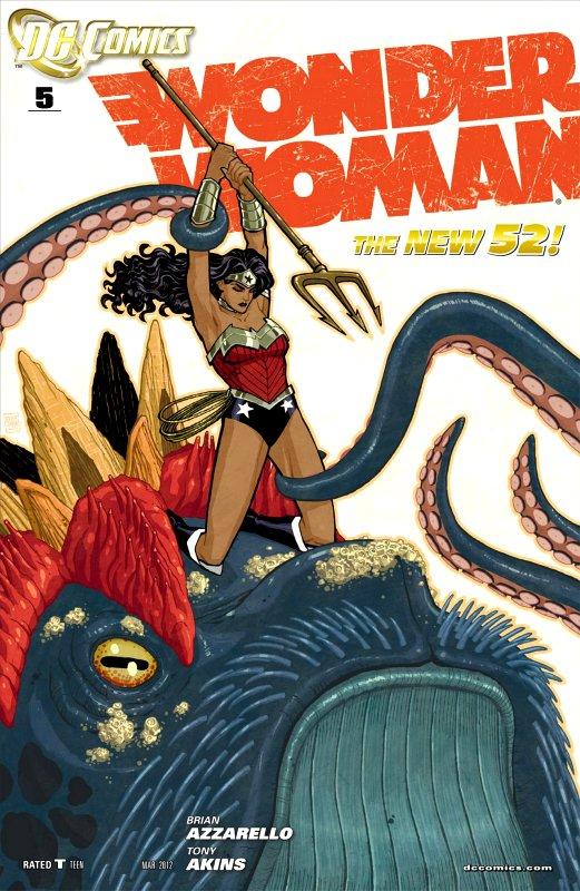 Wonder Woman Volume Four Issue 5