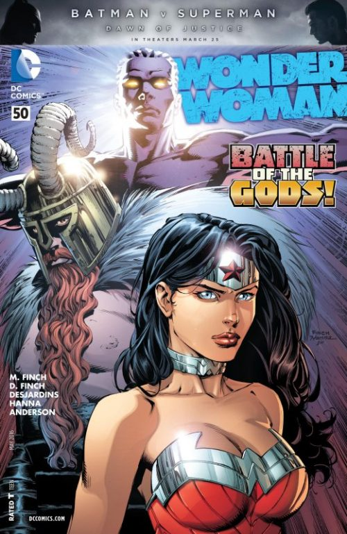 Wonder Woman Volume Four Issue 50