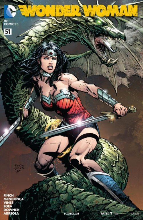 Wonder Woman Volume Four issue 51