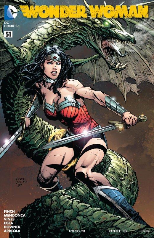 Wonder Woman Volume Four issue 51