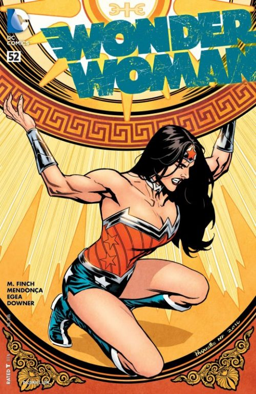 Wonder Woman Volume Four Issue 52