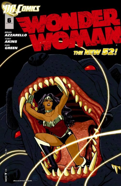 Wonder Woman Volume Four Issue 6