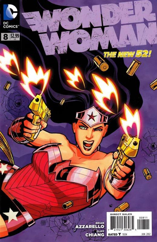 Wonder Woman Volume Four Issue 8