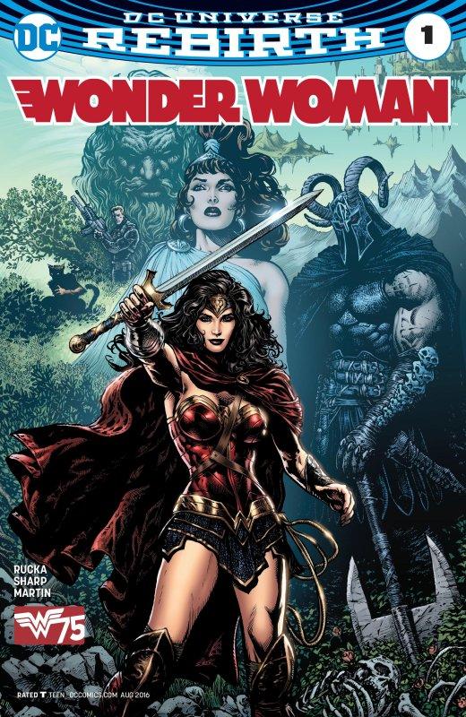 Wonder Woman Volume Five Issue 1