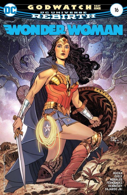 Wonder Woman Volume Five Issue 16