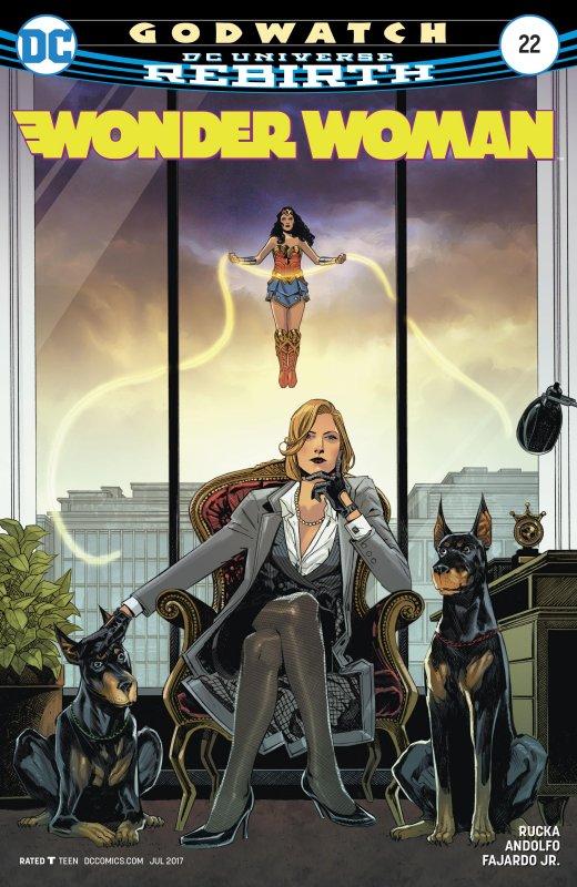 Wonder Woman volume five issue 22