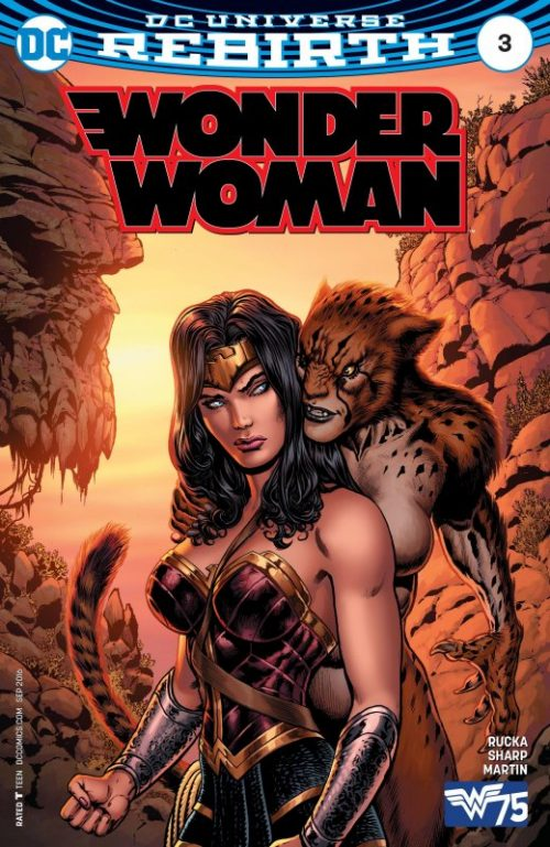 Wonder Woman Volume Five Issue 3