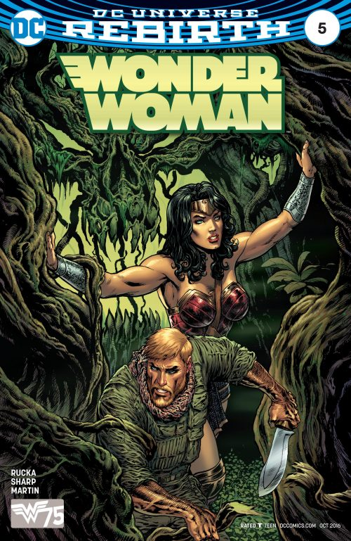 Wonder Woman Volume Five Issue 5