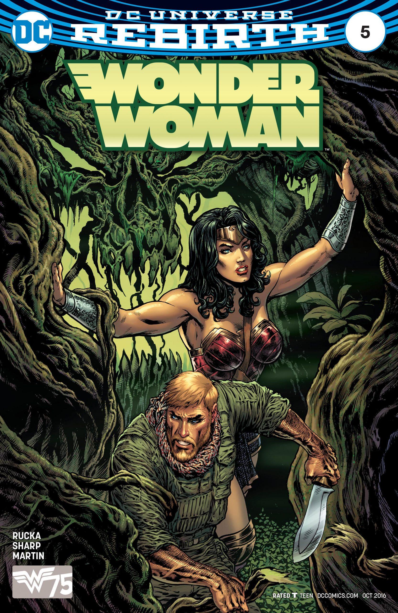 Wonder Woman Volume Five Issue 5